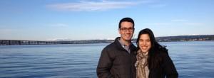 Alissa & I in Seattle