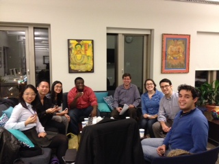 Season's Greetings from the NYU Thursday night Graduate Student Bible study!