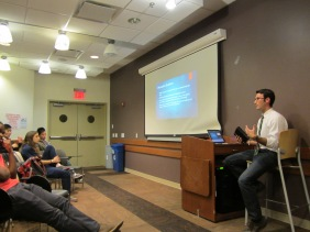 Speaking at the November NYU CMDA meeting in the dental school.