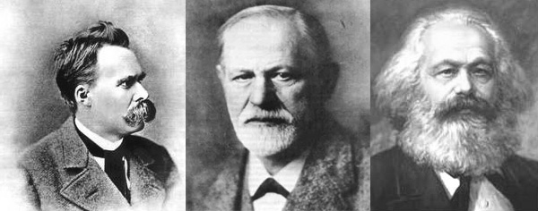 Marx, Nietzsche and Freud